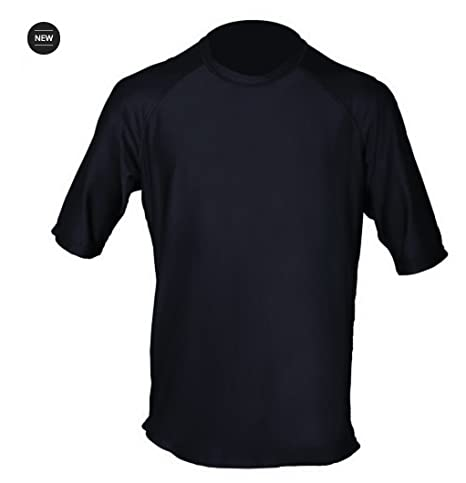 Loose Fit Swim Shirts For Men - Short Sleeve UV 50 + Sun Protection Swimwear  - 643718ef4