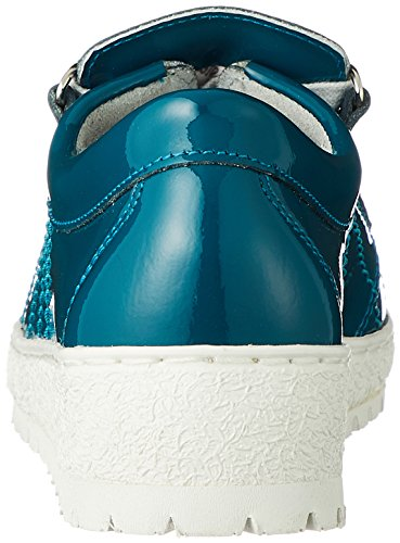 Mephisto Women's Lady1179 Lace-Up Flats Turquoise 5LgGV2liA