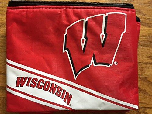 Wisconsin Big Logo Stripe 6 Pack Cooler ()