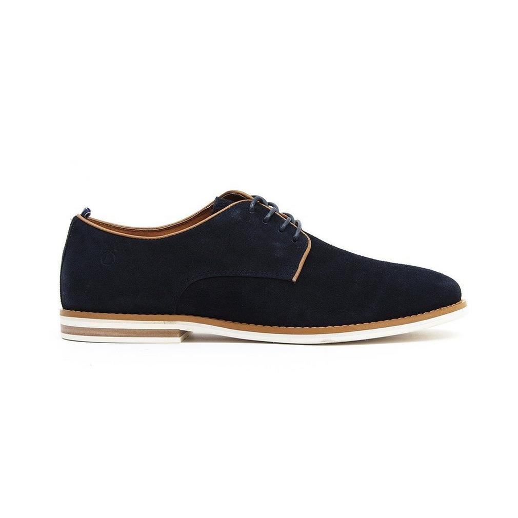 New Mens Peter Werth Blue Nesbitt Suede Shoes Lace Up