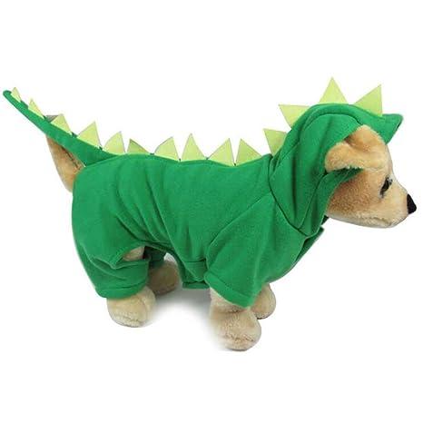 Disfraz de dinosaurio para perros pequeños, de la marca ...