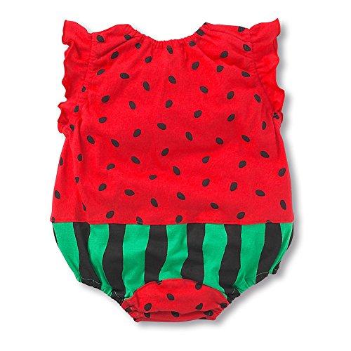 387a82a9a35 Norbi Cute Newborn Baby Comfy Romper Bodysuit Watermelon  Amazon.ca   Clothing   Accessories