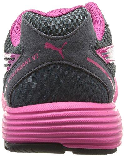 Descendant 37 Sintético Gris Mujer Material Zapatillas Puma Fucsia Running Wn's V2 De Para gqTw1Bdn
