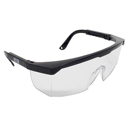 Gafas de protección Transparente EN166 Laboratorio Gafas Gafas de seguridad Protección laboral