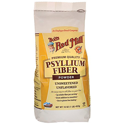 Bobs Red Mill Fiber Powder Psyllium, 16 oz by Bob's Red Mill