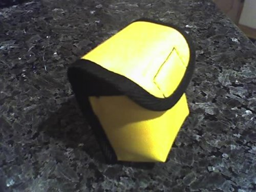 Carrying Case for Pulse Oximeters - Yellow with Belt Loop