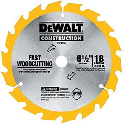 Dewalt dw9155 6 12 inch 18 tooth atb fast cutting carbide saw blade dewalt dw9155 6 12 inch 18 tooth atb fast cutting carbide saw keyboard keysfo Images