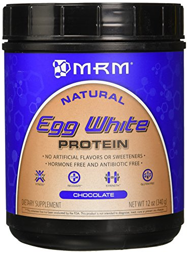 MRM Egg White Protein Powder, Chocolate, 12 oz