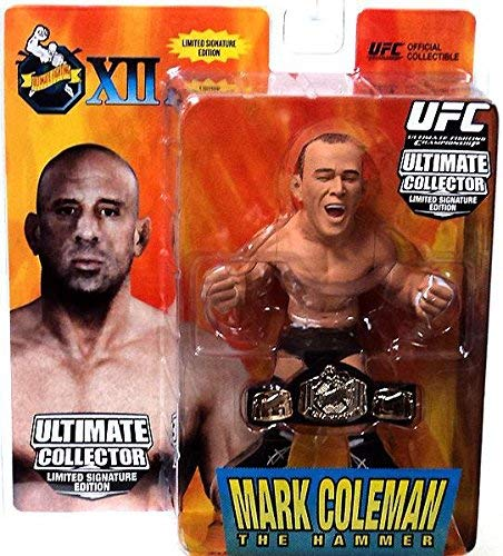 UFC Ultimate Collector Series 10 LIMITED SIGNATURE EDITION Marc Coleman Numbered to 750 Includes Championship Belt