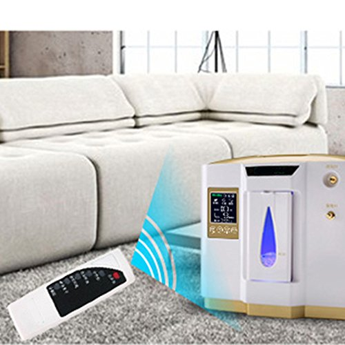 Zorvo Portable Oxygen Concentrator Generators Household Oxygen Machine Home Oxygen Concentrator Generator Air Purifier Home Air Purifier 1-6L/min Flow AC 110V by Zorvo (Image #6)