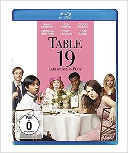 Amazon Com Table 19 Movie Blu Ray 4010232071484 Books