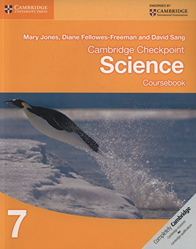 Cambridge Checkpoint Science Coursebook 7 (Cambridge International Examinations)