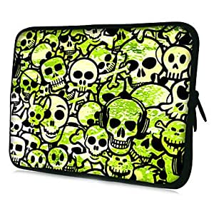 JJE Skulls Pattern Protective Sleeve Case for Samsung Galaxy Tab 2 P3100 and others , 7