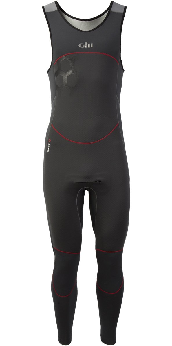2017 Gill Race FireCell 3/2mm GBS Skiff Suit GRAPHITE / GREY RS16 Sizes- - Medium by Gill