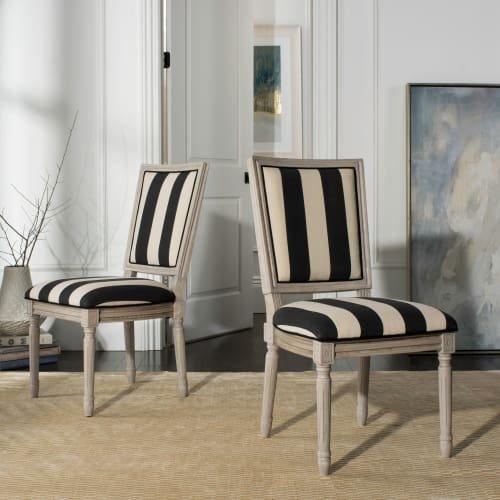 Buchanan Side Chair , Velvet - Navy