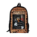 TOREEP Bad Boys Girls Creative Animal School Backpack Bookbag for Teens