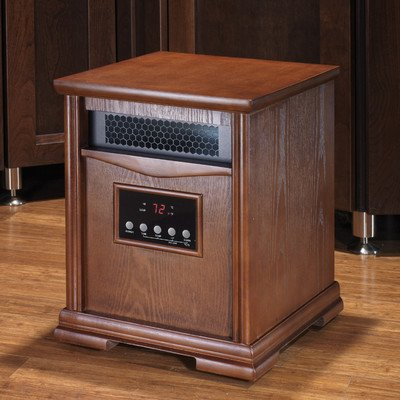 Dynamic 6 Quartz Element 1,500 Watt Infrared Cabinet Space Heater Review