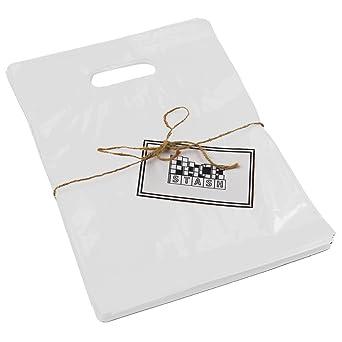 Amazon.com: packstash 16 x 18 x 4-inch Blanco Retail ...