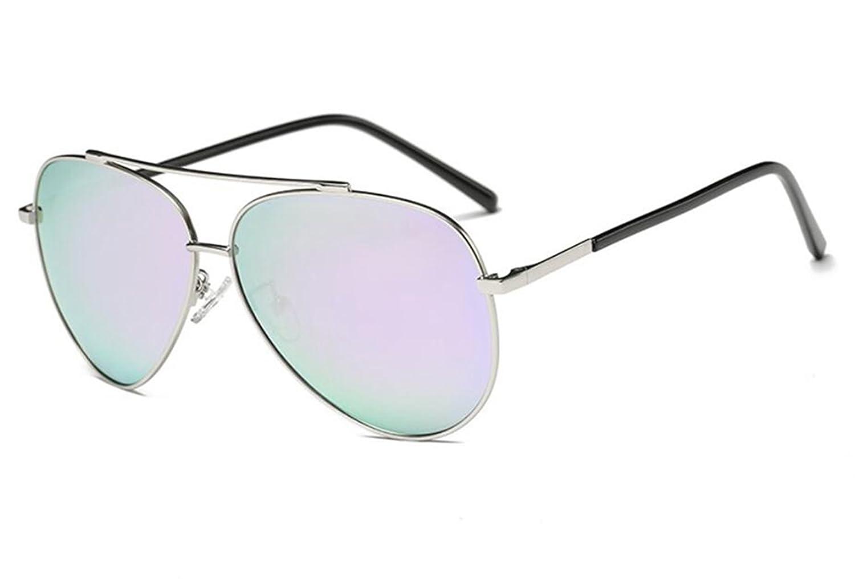 Sucastle Sonnenbrillen Männer und Frauen Paar Modelle polarisiert Sonnenbrillen hell reflektierend Fahren Kröte Brille Metall TAC Goldrahmen Kirschblüte QWERT 141 58 54 20 138mm 6CGCy9uuew
