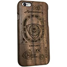 MAZDA RX PHONE CASE iphone 6 & 7 Rotary Wankel Engine 50th Anniversary Wooden laser engraved