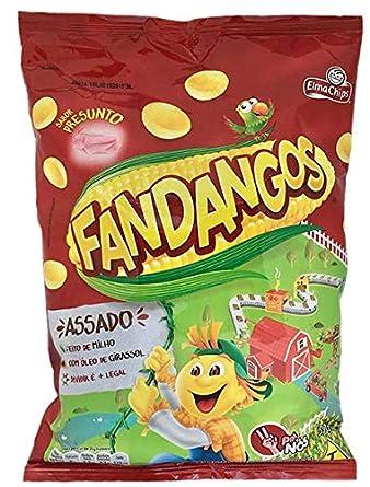 fandangos salgadinho de milho Sabor Presunto (Bolsa de jamón ...