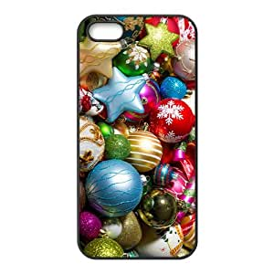 The Colorful Christmas Hight Quality Plastic Case for Iphone 5s