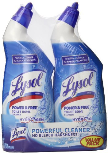 Power and Free Toilet Bowl Cleaner Value Pack, 24 fl oz, 2