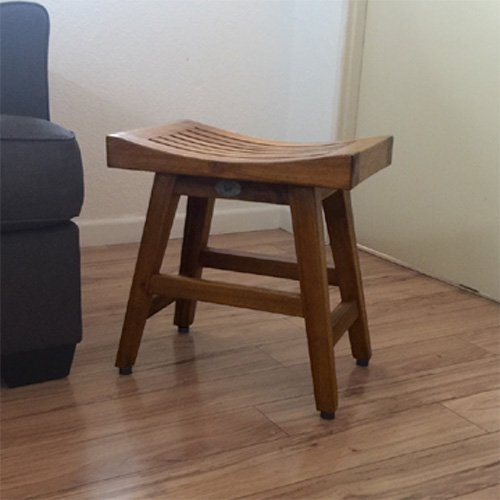 Grace Teak Shower Bench or Kitchen Bench Patio Chair Height Bench by BayviewPatio