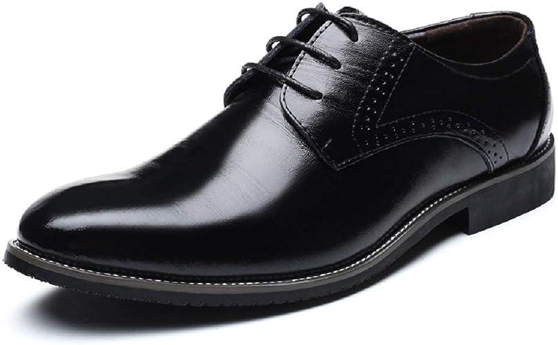 Zapatos Oxford Hombre Cómodos Zapatos de Cordones
