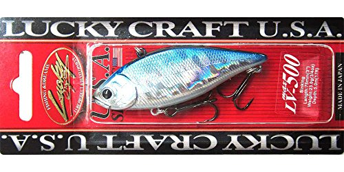 Lucky Craft LV500 Bass Lure (Aurora Black, 3-Inch)