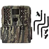 Moultrie S-50i 20MP 80-Foot FHD Video Infrared Game Camera + Tree Mount