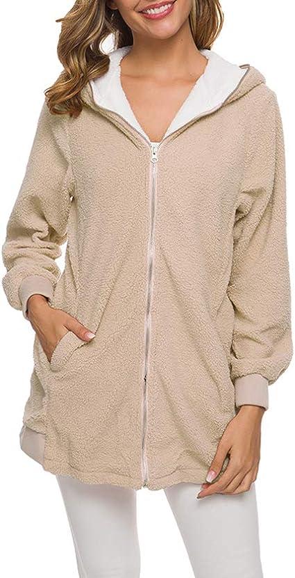 OOFAY Warmer Pullover Weiblicher Herbst Und Winter Lamm