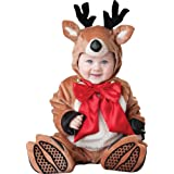 InCharacter Costumes Baby's Reindeer Rascal Costume, Brown/Red/White, Small