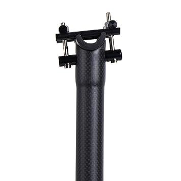 LRG Tija de sillín de Carbono Tija de sillín de Bicicleta de ...