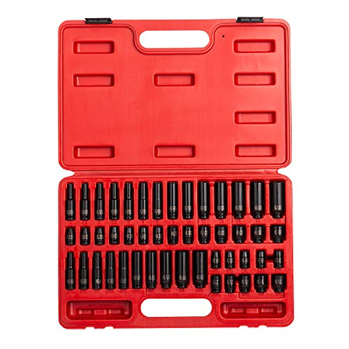Sunex Tools 1848 48-Piece 1/4 in. Drive SAE/Metric Impact So