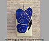 Cheap Switchables Blue Butterfly Glass Cover