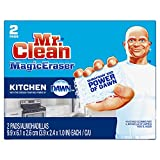 Mr. Clean Magic Eraser Kitchen Scrubber, 2 Count- Packaging May Vary