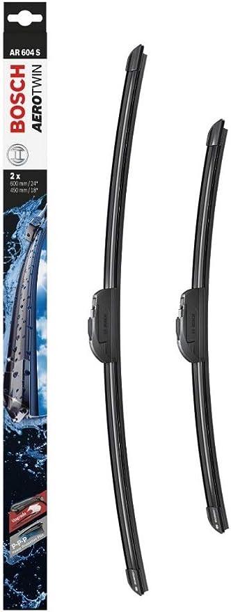 Bosch Aerotwin AR604S - Limpiaparabrisas (2 unidades, 600 mm y 450 ...