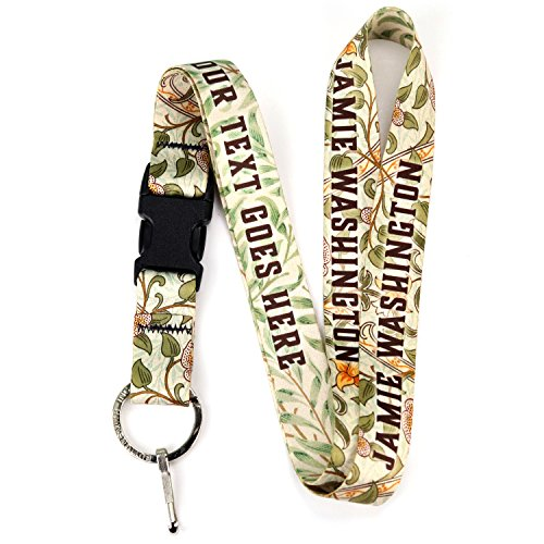 Buttonsmith William Personalized Premium Lanyard