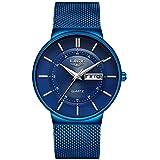 Stuhrling Original Blue Watches for Men - Pro...