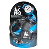 A/C PRO ACP-400 R-134a PRO Professional Grade Air Conditioning Recharge Hose and Gauge by Interdynamics