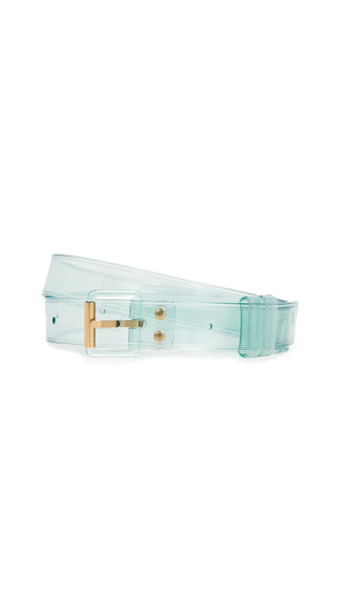 Marc Jacobs Women's The Jelly Belt, Light Blue, One Size