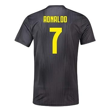 2018-19 Juventus Third Football Soccer T-Shirt Camiseta (Cristiano Ronaldo 7 ) 2d6c85a2740f4