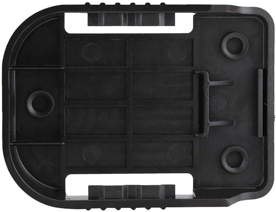 Battery Holder Slots Case Yosoo Health Gear Battery Mounts For Makita For Bosch Strong Black Battery Mounts 5 Pieces Battery Holder 18V