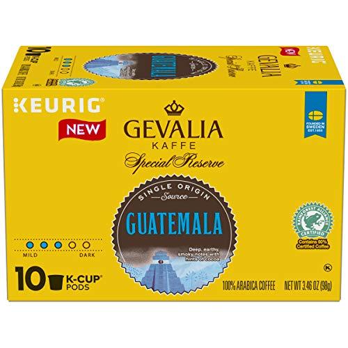 - Gevalia Single Origin Guatemala Keurig K Cup Coffee Pods (10 Count)