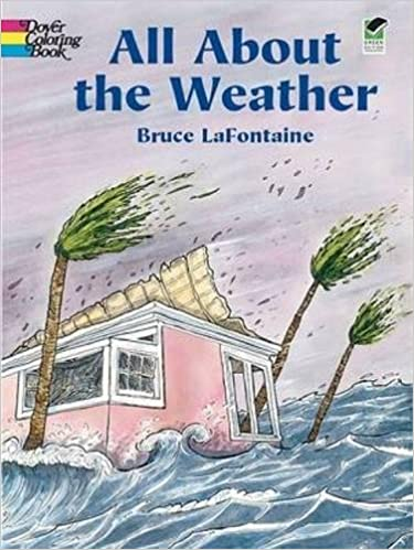 All About the Weather (Dover Nature Coloring Book): Bruce ...