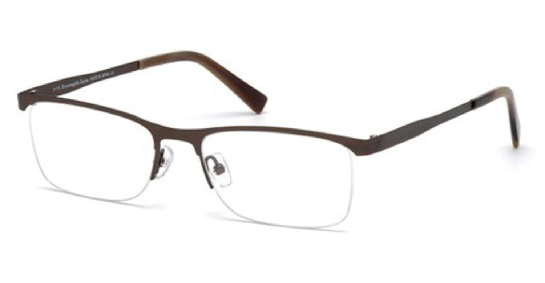 5a84ac0543 Amazon.com  Eyeglasses Ermenegildo Zegna EZ 5079 EZ 5079 034 shiny light  bronze  Clothing
