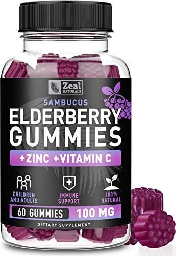 Natural Elderberry Gummies Sambucus Coconut product image