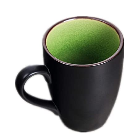 qwdf Taza de cerámica Taza de Agua Taza de Cafe Taza Blanca Taza ...