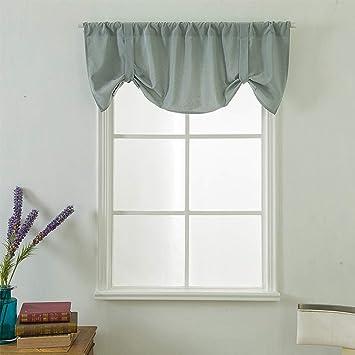 Gaddrt® - 1 mantovana per finestra, extra larga e corta, per cucina,  soggiorno, bagno A